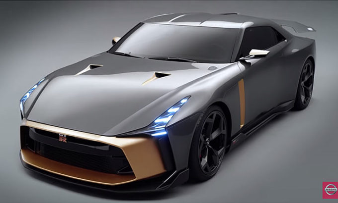 NISSAN GT-R 50周年記念モデル